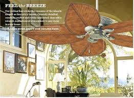 bahama ceiling fan feel the breeze bahama dc ceiling fan with led light