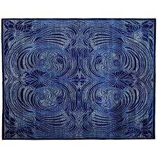 cobalt blue area rug and white rugs beautiful for royal wool
