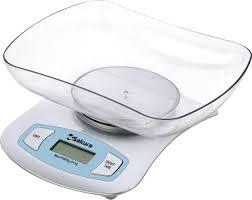 Купить <b>Весы кухонные электронные Sakura</b> SA-6052S с быстрой ...