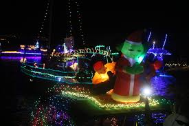 Dana Point Boat Parade Of Lights 2018 Super Sailors Thousands Gather For 43rd Annual Dana Point