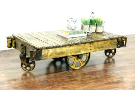 rustic coffee table with wheels rustic coffee table with wheels cfee tabl on photo luxury antique rustic coffee table with wheels