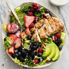 grilled chicken salad.  Chicken To Grilled Chicken Salad R