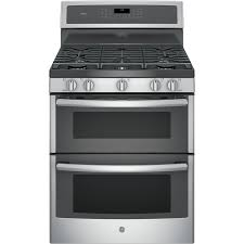 double oven gas range. Display Product Reviews For Profile 30-in 5-Burner 4.3-cu Ft / Double Oven Gas Range O