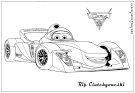 cars 2 printable coloring pages free disney 20