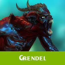 monster creature grendel. Beautiful Monster Grendel Fantasy Monster 3d Model Lowpoly Rigged Animated Max Fbx Blend Dae  X Dbo Intended Monster Creature Grendel
