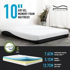 twin xl mattress sale.  Mattress Nighslee Twin XL Size 10 Inch CertipurUS Certified Cool Gel Memory Foam  Mattress In Box100 Days Trial  Years Warranty And Xl Sale