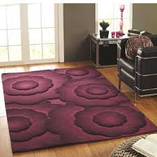 textures realm purple fl wool rug by flair rugs 1