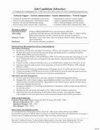 Network Technician Sample Resume Telecom Technician Resume Network