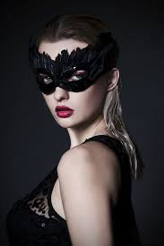 feather mask inspiration black feathers and sequins