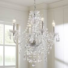 ice palace 4 light crystal chandelier reviews birch lane with regard to brilliant house 4 light crystal chandelier prepare