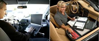 car office desk. car office equipment | accessories. mobil desk/auto desk tablet holder m