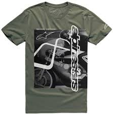 alpinestars five t shirt clothing t shirts casual military green alpinestars shoes largest fashion