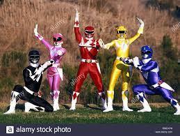 RANGER, Ranger, Ranger, Ranger, Ranger, MIGHTY MORPHIN POWER RANGERS, 1993  Stockfotografie - Alamy