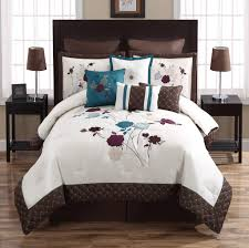 boscovs sheets olropxco teal and brown comforter set