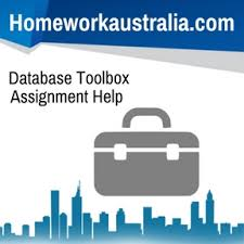 database toolbox assignment help and homework help n  database toolbox assignment help