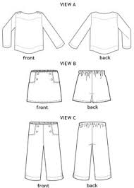 Pants Patterns Mesmerizing Digital Sailboat Top Skirt Pants Sewing Pattern Shop Oliver S