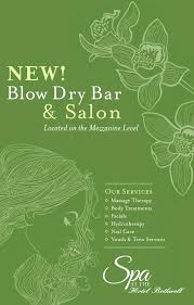 dry bar gift certificate purchase