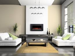 Decoration: Decorating With Electric Fireplaces Incredible Decoration Ideas  Breathtaking Wall Mounted Fireplace Inside 6 from