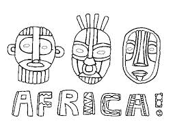Small Picture African Coloring Pages Miakenasnet