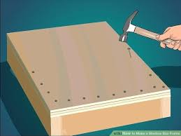 how to make picture frames out of wood image titled make a shadow box frame step how to make picture frames out of wood unfinished