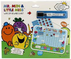 Little Miss Chart Mr Men And Little Miss Wipe Off Reward Chart