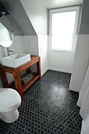 Part Tiled Bathrooms 17 Best Ideas About Black Tile Bathrooms On Pinterest Black