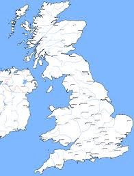 roller ski directory  map of great britain