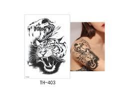 Voděodolné Dočasné Tetování Th 403