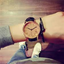 online get cheap vintage style mens watches aliexpress com harajuku style fashion women watch vintage leather quartz wristwatches ultra thin men watch 2016 couple