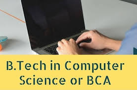 computer tech degree is getting a bca degree equivalent to getting a b tech degree in