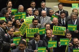 Resultado de imagem para imagens da votação do impeachment da Dilma na Camara dos Deputados