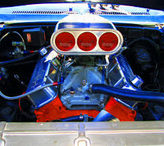 396 Engine With Holley Carbs In 1969 Nova Super Sport - Love's ...
