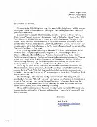 letter from teacher to parents letter of recommendation lovely parent letter of recommendation for