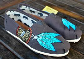 Dream Catcher Toms NATIVE AMERICAN DREAM CATCHER TOMS SHOES on The Hunt 7