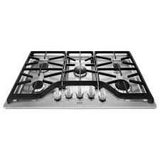 gas cooktop in stainless steel with 5 burners including 18000btu gas stove top burners g19 top