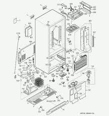 1937 frigidaire refrigerator parts GE SxS Refrigerator Wiring Diagram 1937 Ge Refrigerator Wiring Diagram #43