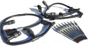 2004 2010 ford f250 f350 f450 6 0l diesel glow plug wire harness 2004 2010 ford f250 f350 f450 6 0l diesel glow plug wire harness kit glow plugs set complete