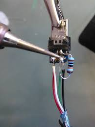 picture of hot glue and heat shrink