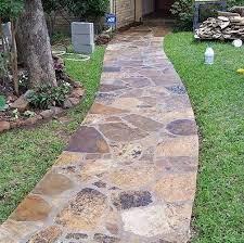 patio stones flagstone walkway