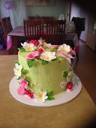 Small Picture 9 best Fairy Garden Cake Ideas images on Pinterest Fairies