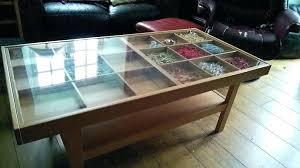 coffee table display top display case coffee table glass top display coffee table display coffee table beech wood with coffee table glass top display drawer