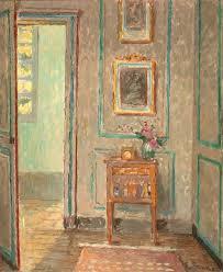 open door painting. Ethel Sands - The Open Door, Auppegard, France Door Painting R