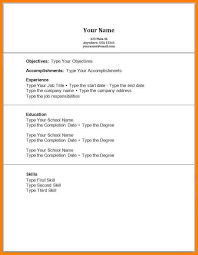 No Work Experience Resume Example 8 Work Experience Resume Examples Wsl Loyd
