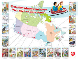 canadian flyer map