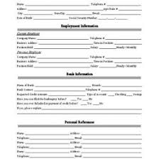 Credit Application Forms Small Business Free Forms 58122575907