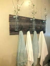 Bath towel hanger Rustic Towel Hanging Ideas Bathroom Towel Rack Ideas Bathroom Towel Hanger Para Bath Hanging Ideas Bath Towel Bjorkmanindustrialinfo Towel Hanging Ideas Bath Towel Holder Ideas Bathroom Hand Towel