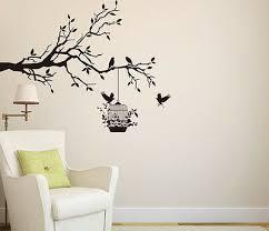 tree wall sticker branch with birds