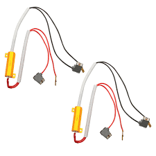 h1 h3 hid led kit 50w 6ohm resistor warning canceler relay harness h1 h3 hid led 50w 6ohm resistor relay kit wiring harness adapter