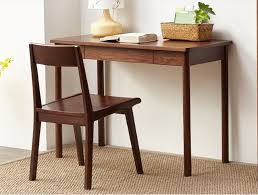 solid wood home office desks. solid wood home office furniture small computer desk white oak walnut finish modern luxury elegant writing desks f