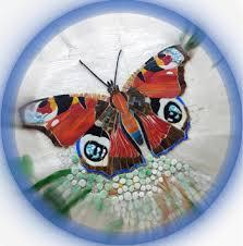 Butterfly Mosaic by Melanie Watts - Milton Keynes Heritage Open Days